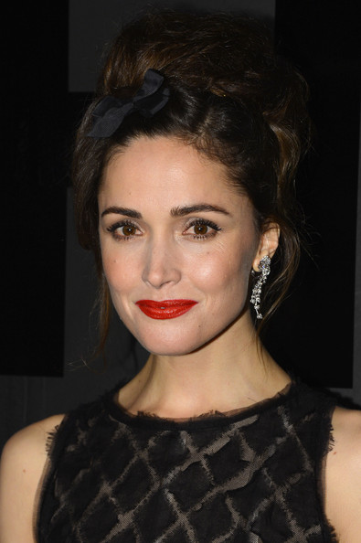 More Pics of Rose Byrne Little Black Dress (1 of 5) - Rose Byrne Lookbook - StyleBistro