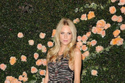 Model Poppy Delevigne arrives at CHANEL Boutique on October 27, 2011 in Los Angeles, California.