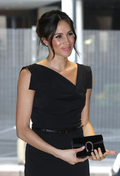 More Pics of Meghan Markle Twisted Bun (7 of 23) - Meghan Markle Lookbook - StyleBistro