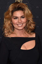 Shania Twain wore her tresses in high-volume curls at the CMT Artists of the Year event.