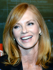 Marg Helgenberger sported a classic mid-length bob at the 'Intelligence' premiere party.