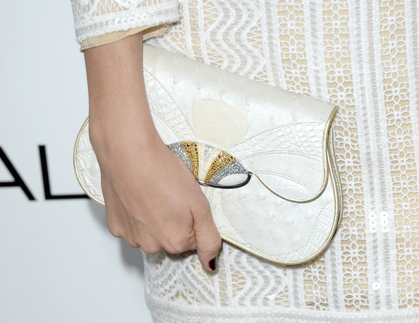 Caitlin Fitzgerald Leather Clutch