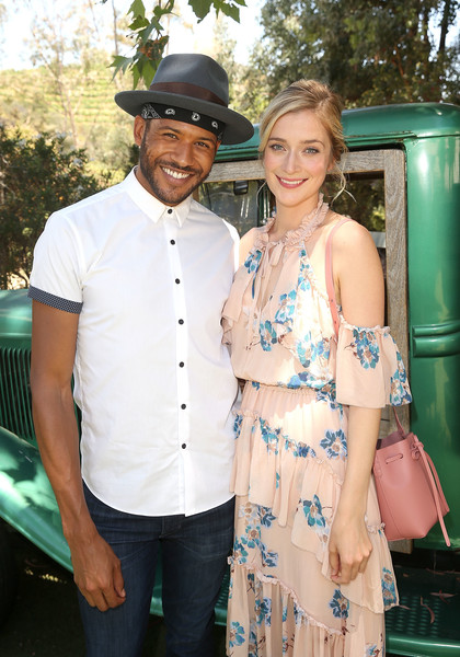 Caitlin Fitzgerald Leather Shoulder Bag