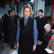 Greta Gerwig at Calvin Klein Collection