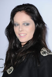 At the 1st Annual Celebration for L.A. Arts Monthly Coco Rocha swept of on pale, icy blue shadow and just a hint of black liner.