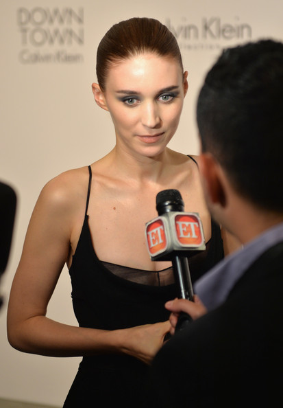 More Pics of Rooney Mara Croydon Facelift (1 of 15) - Updos Lookbook - StyleBistro [calvin klein collection post show,face,hair,skin,beauty,hairstyle,fashion,chin,forehead,model,lip,rooney mara,new york city,calvin klein collection,spring studios,event,mercedes-benz fashion week,fashion show event]