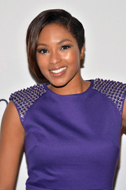 Alicia Quarles topped off her look with a cool half bob when she attended the Calvin Klein Save the Children benefit.