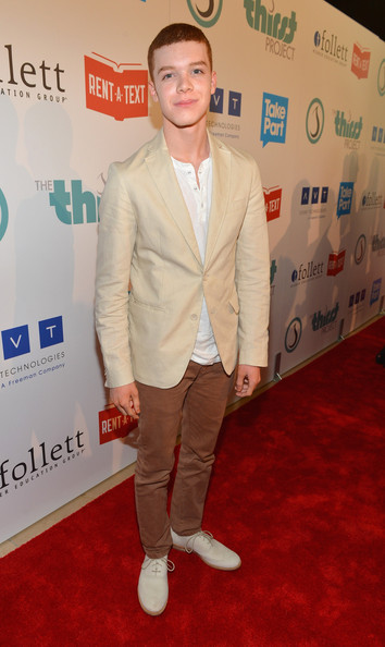 Cameron Monaghan Flat Oxfords [carpet,red carpet,clothing,outerwear,suit,flooring,premiere,blazer,footwear,event,cameron monaghan,thirst project 3rd annual gala,beverly hills,california,the beverly hilton hotel,the thirst project,3rd annual gala]