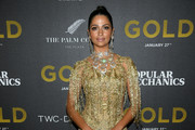 Camila Alves Fringed Dress