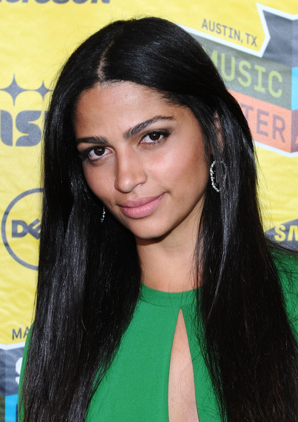 Camila Alves Long Straight Cut
