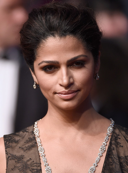 Camila Alves Nude Lipstick [the sea of trees,hair,face,eyebrow,fashion model,hairstyle,skin,beauty,fashion,lip,chin,gabriela cadena,camilla alves,cannes,france,premiere - the 68th annual cannes film festival,premiere]