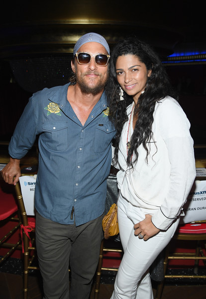 Camila Alves Wrap Top [cool,event,eyewear,fashion design,nightclub,thigh,siriusxm presents duran duran live,duran duran performing live for siriusxm,faena theater in miami during art basel,faena theater in miami beach during art basel,miami beach,florida,camila alves,matthew mcconaughey]