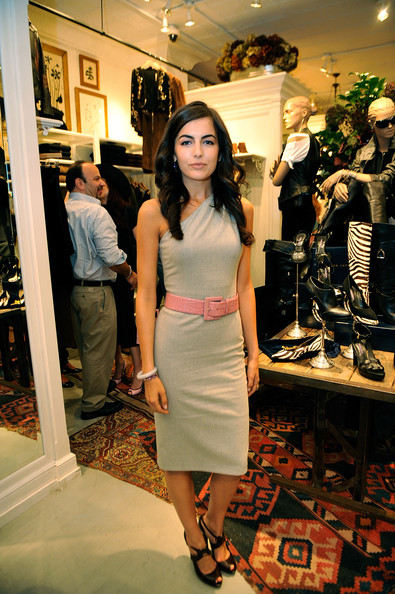 Camilla Belle Leather Belt