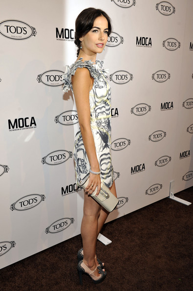 Camilla Belle Tube Clutch