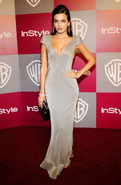 Camilla Belle Evening Dress [red carpet,fashion model,carpet,dress,clothing,shoulder,flooring,fashion,neck,hairstyle,arrivals,camilla belle,hotel,beverly hills,california,instyle,warner brothers,golden globes party,post-party,warner bros. 68th annual golden globe awards]