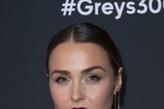 Camilla Luddington Dangling Chain Earrings