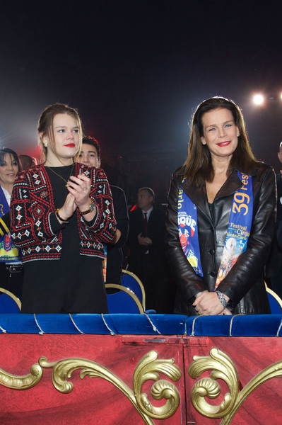 Camille Gottlieb Cropped Jacket [games,fun,event,talent show,recreation,performance,stephanie of monaco,camille gottlieb,l-r,monaco,39th international circus festival,international monte carlo circus festival]