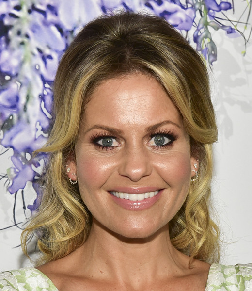 Candace Cameron Bure Long Curls [red carpet,hair,face,hairstyle,eyebrow,blond,chin,forehead,lip,eyelash,smile,candace cameron bure,summer tca,residence,beverly hills,california,hallmark channel]