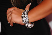 Deena Nicole Cortese wore a stunning bangle bracelet to Candie's MTV Video Music Awards After Party.