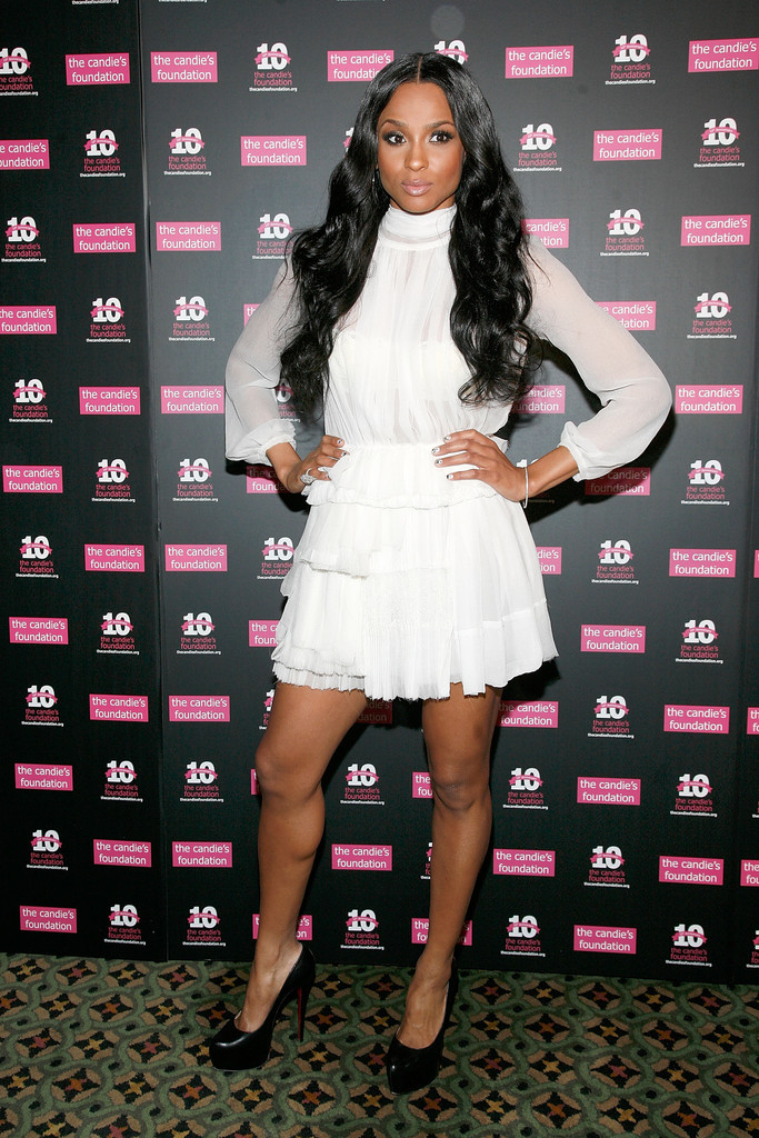 Ciara attends the Candie's Foundation 2011 event to prevent benefit gala at Cipriani 42nd Street on May 3, 2011 in New York City.