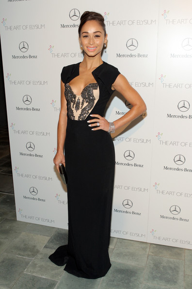 Cara Santana Evening Dress