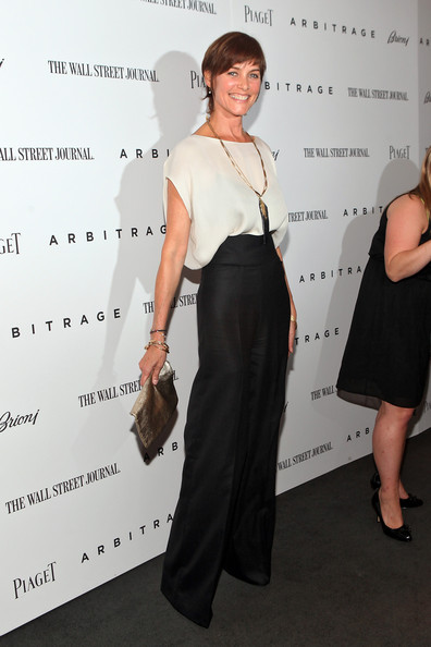 Carey Lowell High-Waisted Pants