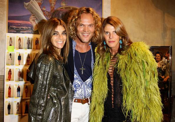 Emilio Pucci: Backstage - Front Row: Milan Fashion Week  S/S 2011