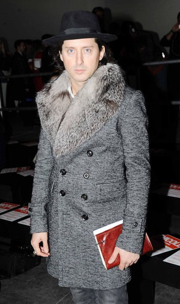 Richard Nicoll: Front Row - London Collections: MEN AW13