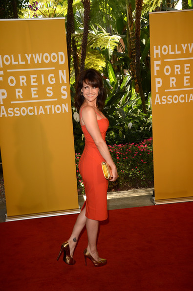 Carla Gugino Body Art
