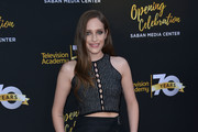 Carly Chaikin Crop Top