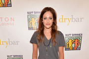Carly Chaikin V-Neck Tee
