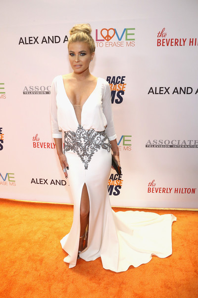 Carmen Electra Fishtail Dress
