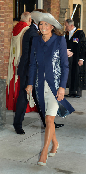 Carole Middleton Evening Coat