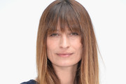 Caroline De Maigret Long Straight Cut with Bangs