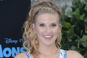 Caroline Sunshine Braided Updo