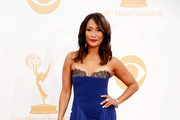 Carrie Ann Inaba Strapless Dress
