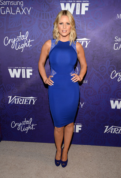Carrie Keagan Peep Toe Pumps