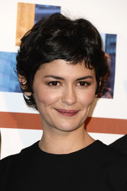 Audrey Tautou sported her signature pixie cut at the premiere of 'Casse Tete Chinois.'