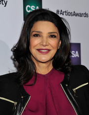 Shohreh Aghdashloo showed off lovely, bouncy curls at the Artios Awards.