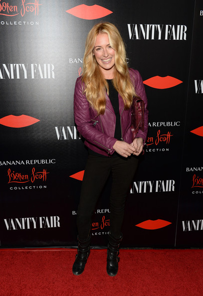 Cat Deeley Leather Jacket