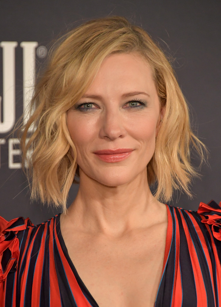 medium hair styled cate blanchett haircut bob haircuts models ideas 2132