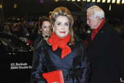 Catherine Deneuve Evening Coat