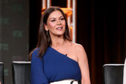 Catherine Zeta-Jones One Shoulder Dress