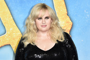 Rebel Wilson was gorgeously coiffed with this long wavy 'do at the world premiere of 'Cats.'