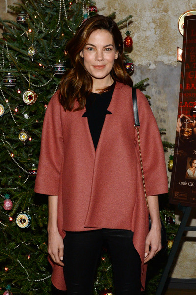 More Pics of Michelle Monaghan Leather Pants (1 of 5) - Michelle Monaghan Lookbook - StyleBistro