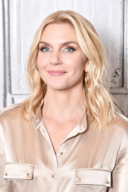 Rhea Seehorn sported stylish shoulder-length waves while visiting Build.