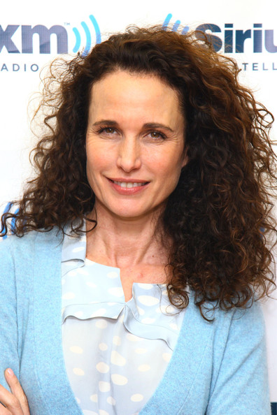 More Pics of Andie MacDowell Long Curls (1 of 11) - Andie MacDowell Lookbook - StyleBistro