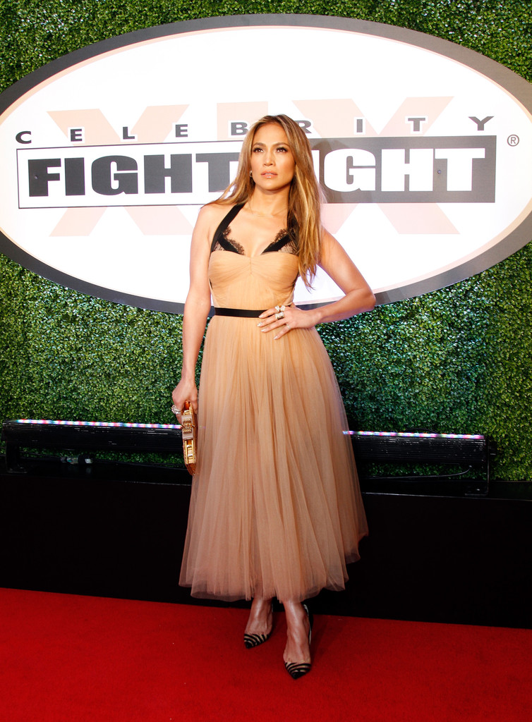 Jennifer Lopez's Glam Ballerina Dress