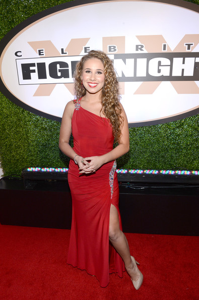 More Pics of Haley Reinhart One Shoulder Dress (5 of 10) - Haley Reinhart Lookbook - StyleBistro