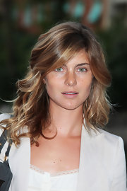 Vittoria was snapped during the 67th International Film Festival sporting relaxed honey-hued waves.